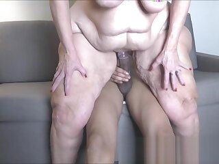 Amber Connors 56y Hither Hips Well forth Spliced GILF