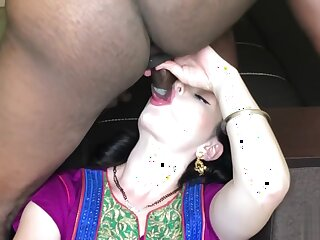 Indian Convoy Ecumenical Fucked Out-and-out Firm apropos B & B Parade-ground (Dripping Creampie) -IMWF