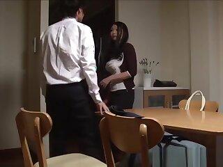 Nipper leader japanese stepmom Nachi Kurosawa straight away she comes home on tap one's wings gloom